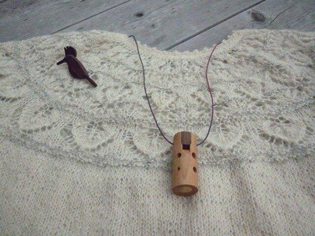 木のオカリナ アメリカンチェリーの画像1枚目