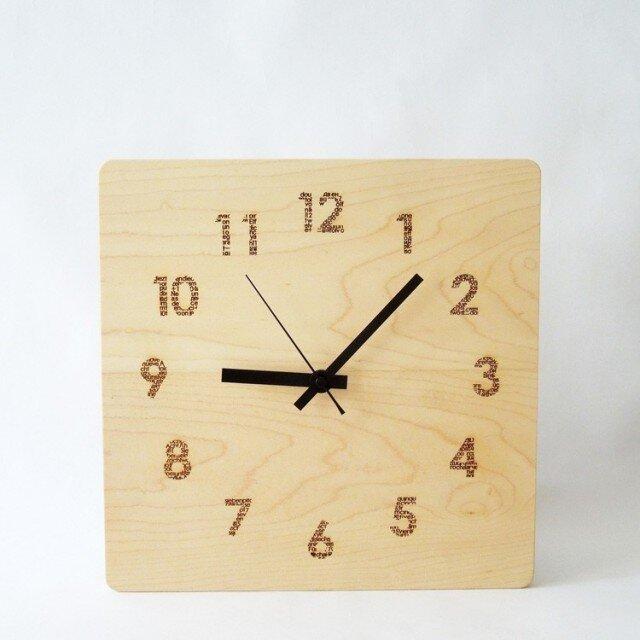 clock54 | world largeWH(メープル)の画像1枚目