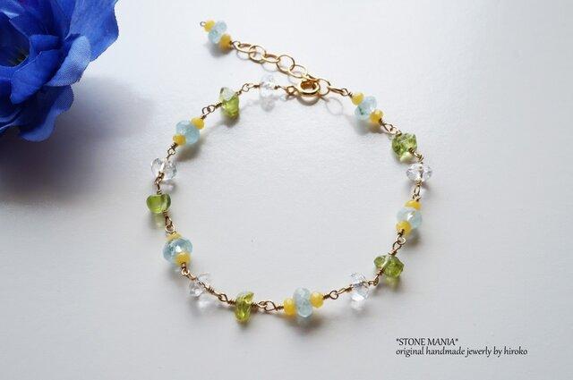 ♡Cool stone bracelet♡の画像1枚目