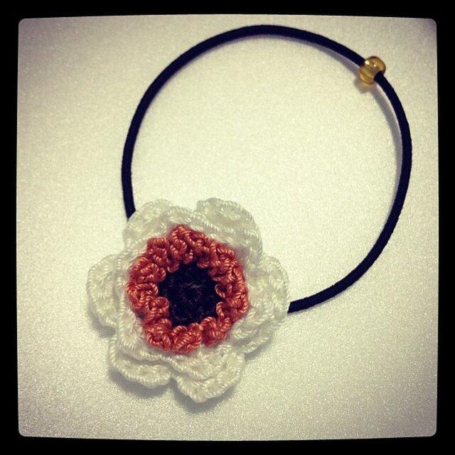 お花のモチーフゴム~その1の画像1枚目