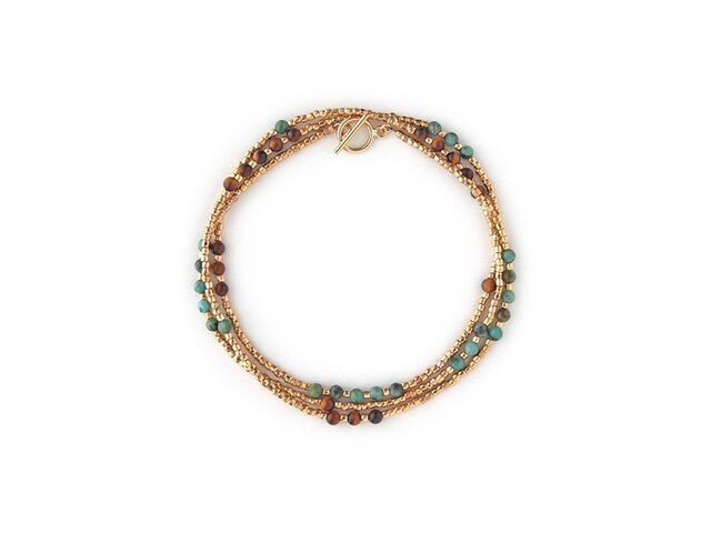 <SALE> FIELDS OF GOLD Necklace / Ankletの画像1枚目
