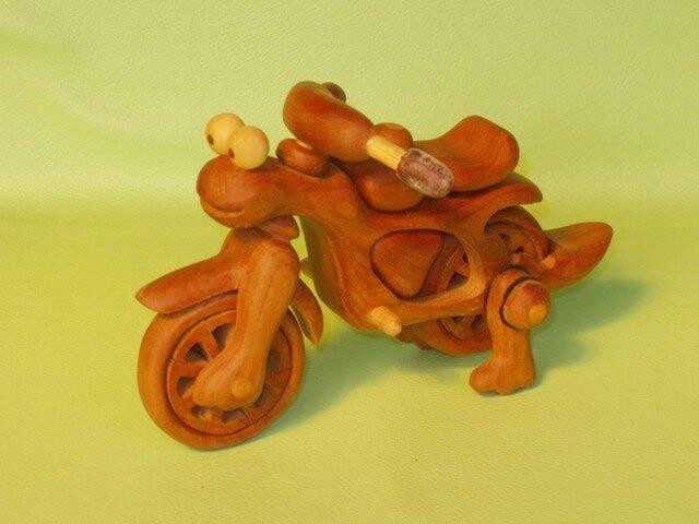 恐竜バイクの画像1枚目