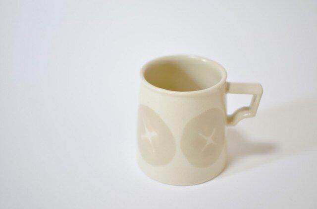 マグカップ プラスのねじ模様の画像1枚目