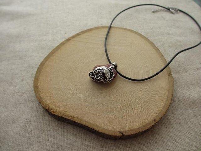 自然石のチョーカーNo.001(自然石&シルバー)の画像1枚目