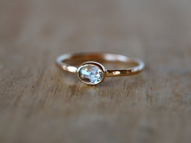 A Dew Drop diamond Ringの画像1枚目