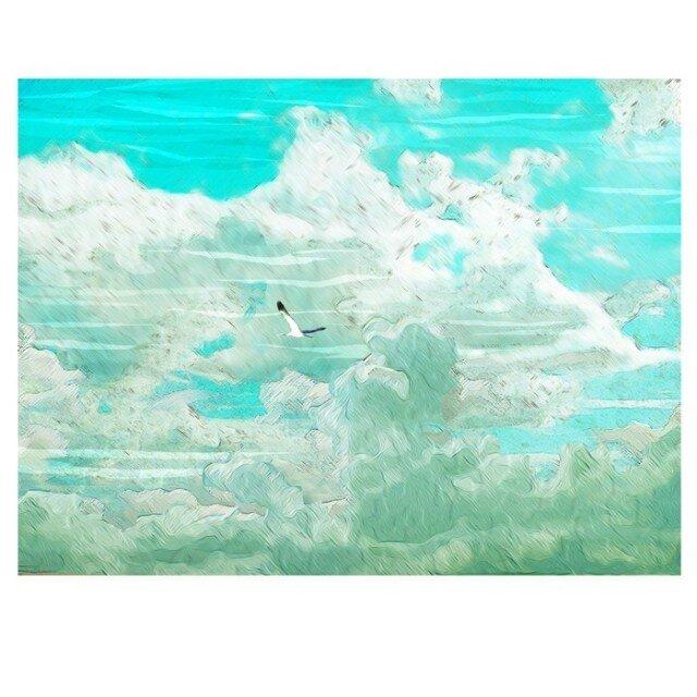 夢を持たない鳥は自由に飛ぶ 【A3】サイズ の画像1枚目