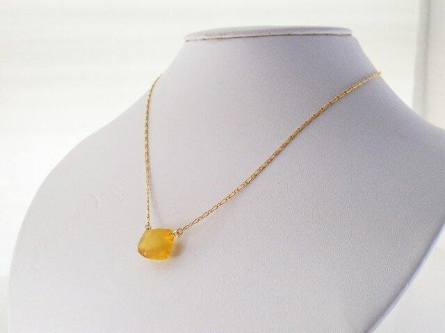 バルト海産琥珀 K14GF Necklace 2の画像1枚目