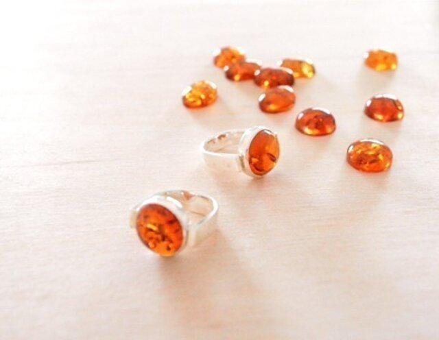 Round Amber Ringの画像1枚目