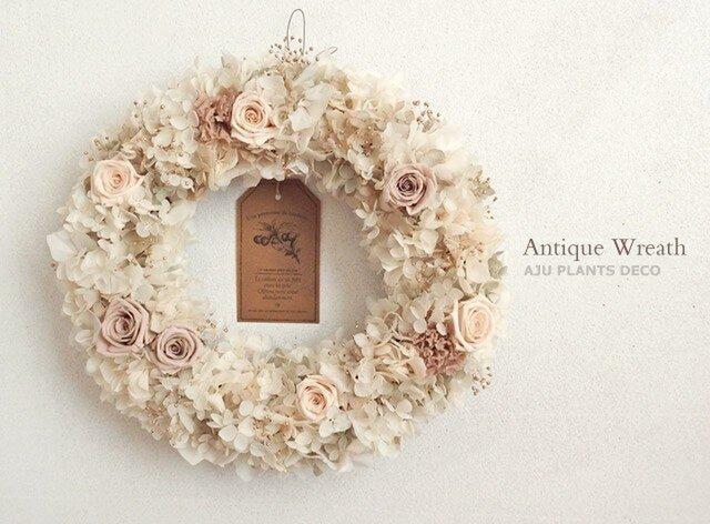 Antique Wreath 24x25cmの画像1枚目