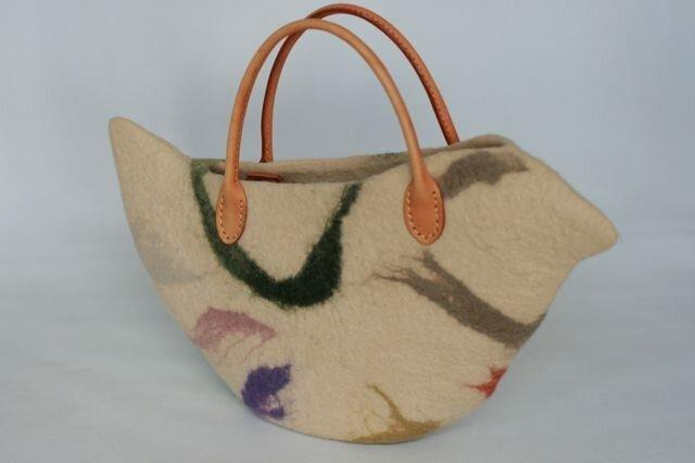 鳥バッグ「Pulcinella」sサイズの画像1枚目