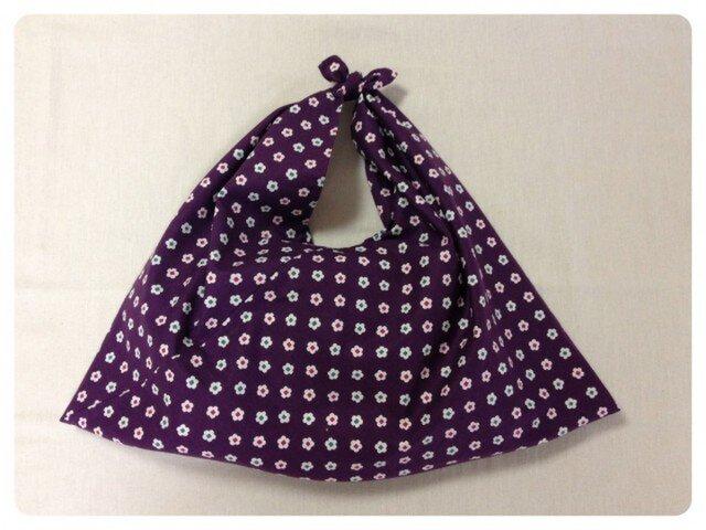 〈再販〉包みあずま(小花 紫色)大の画像1枚目