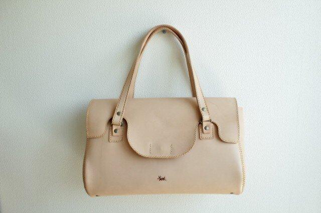 栃木レザー 手縫い haru bagの画像1枚目