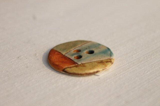 陶器のかわいいボタン 1の画像1枚目
