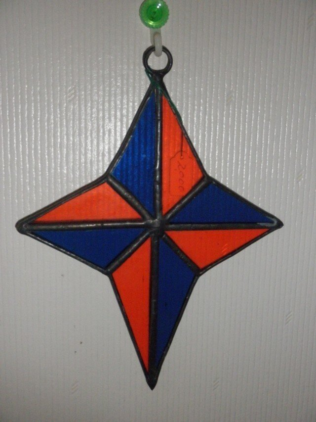 ミニ飾り(星)の画像1枚目