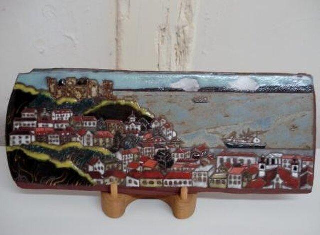 陶板画 郷愁のリスボンの画像1枚目