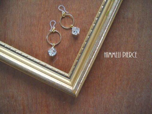 himmeli pierce(樹脂フックピアス)の画像1枚目