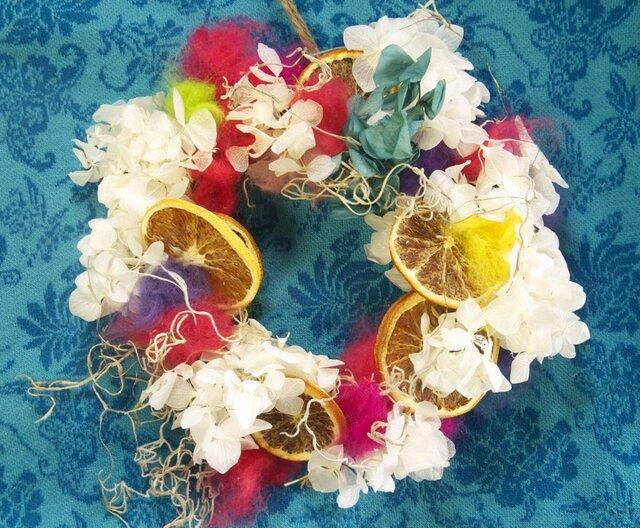 candy wreathの画像1枚目