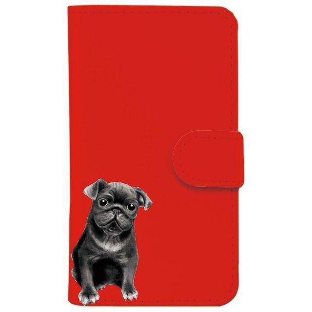 *パグ(犬)*選べる3色*iPhoneケース*の画像1枚目