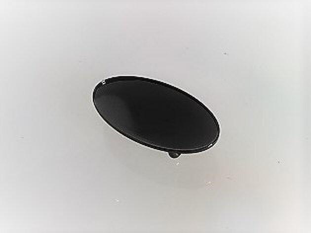 再々販!【帯留め】セクター 楕円(ブラック)の画像1枚目