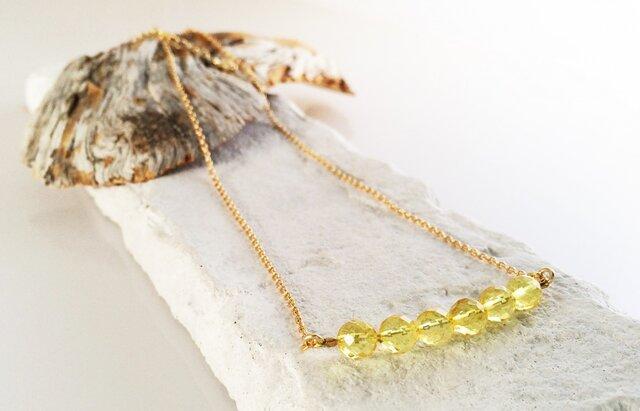 バルト海産琥珀 K14GF Necklaceの画像1枚目