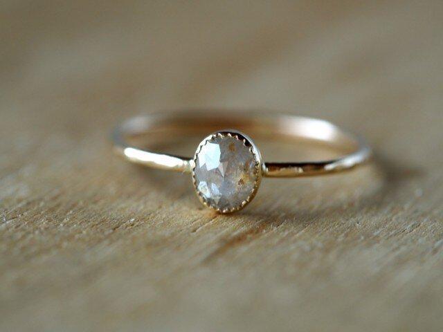 Frost white Diamond Ringの画像1枚目