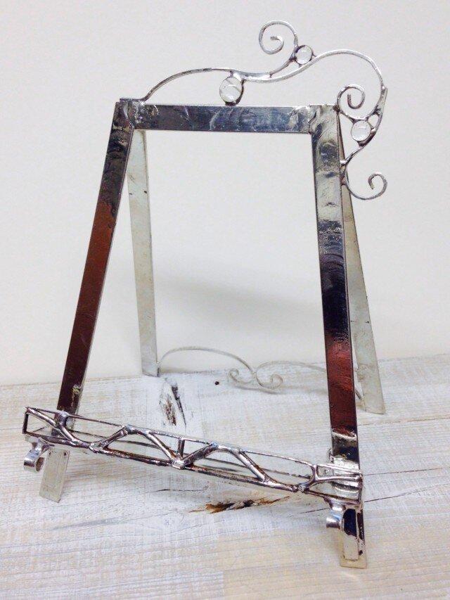 風の夢想曲   ステンドグラスの小さなイーゼル toiro様専用の画像1枚目