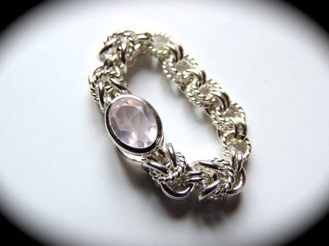 『 Amoroso ( heart ) 』Ring  SV925の画像1枚目