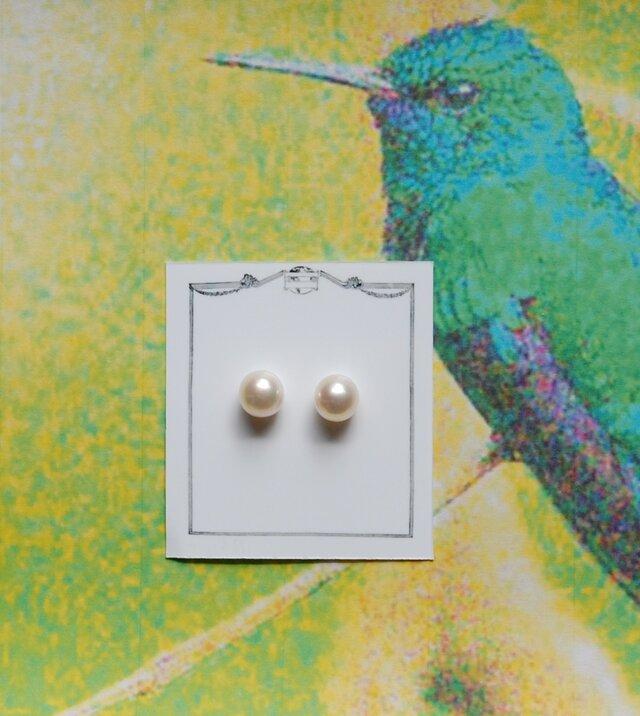 真珠(7.5ミリサイズ)n.6の画像1枚目