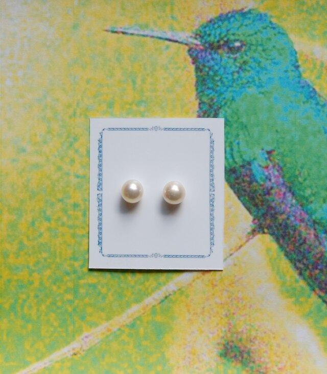 真珠(7.5ミリサイズ)n.5の画像1枚目