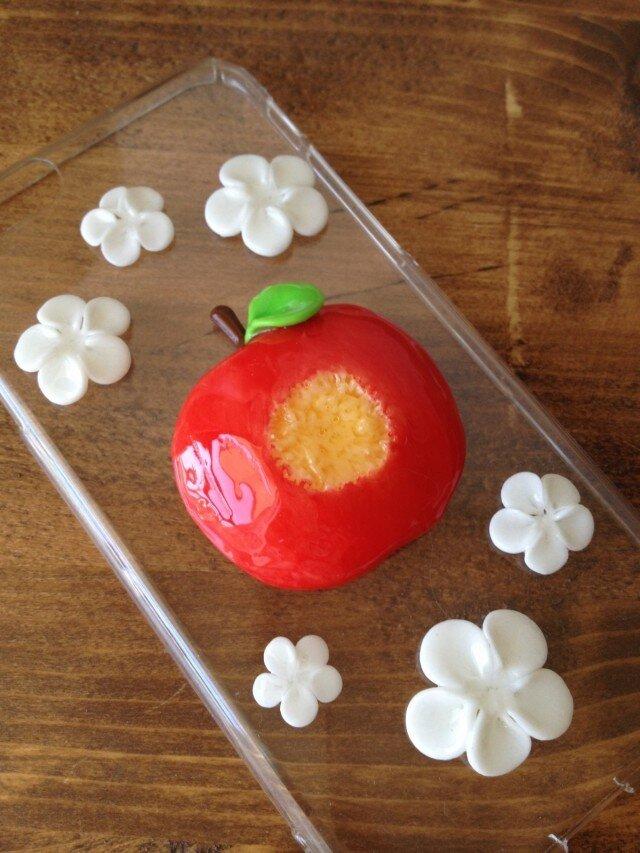 蜜りんごスマホケースの画像1枚目