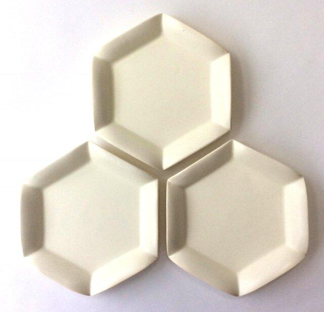 六角花皿(小)の画像1枚目