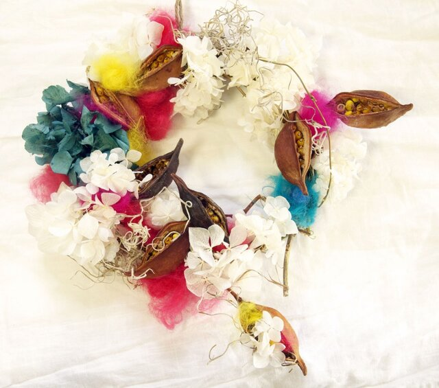 parrot wreathの画像1枚目