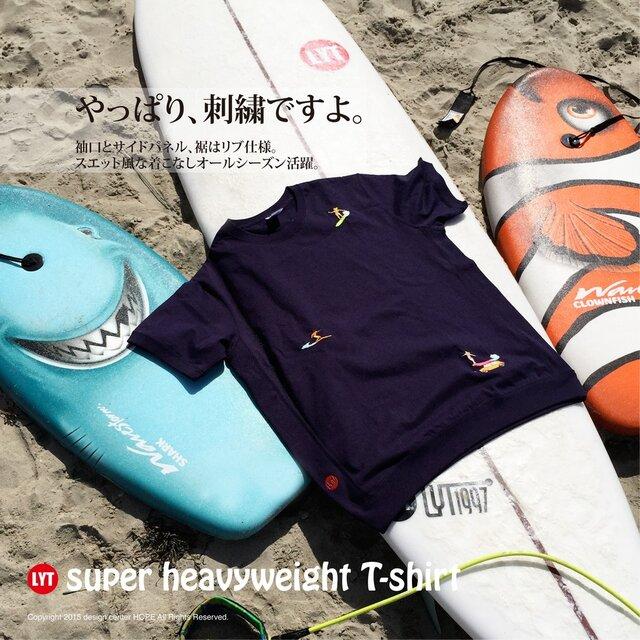 SURF 3 刺繍 ヘビーウェイト Tシャツの画像1枚目