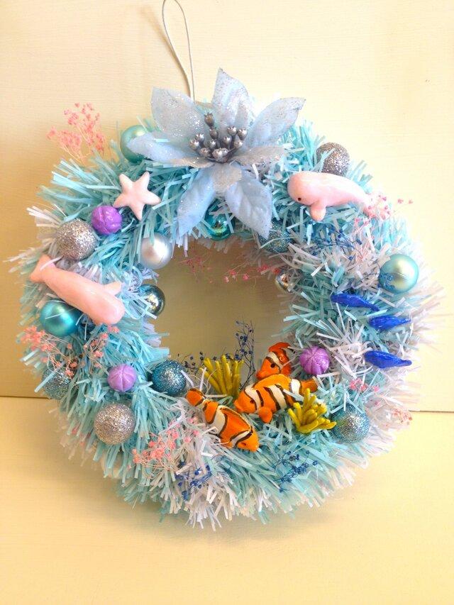 海のクリスマスの画像1枚目