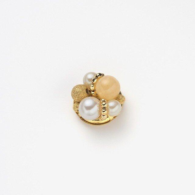 コンチョ(pearl×lemon yellow)の画像1枚目