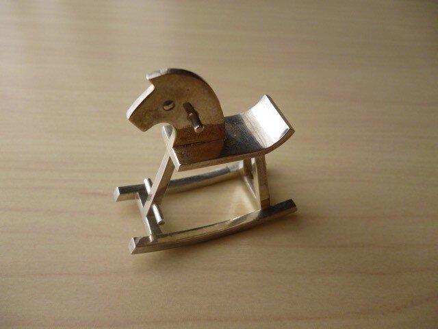 木馬のリングの画像1枚目