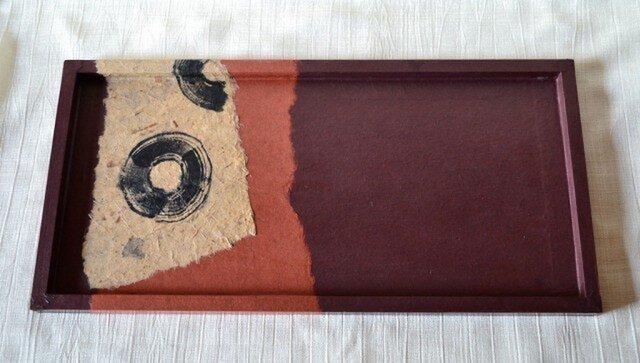 和紙のお盆の画像1枚目
