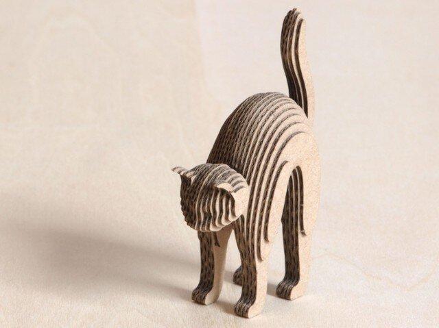 【工作キット】段々猫-excitingの画像1枚目