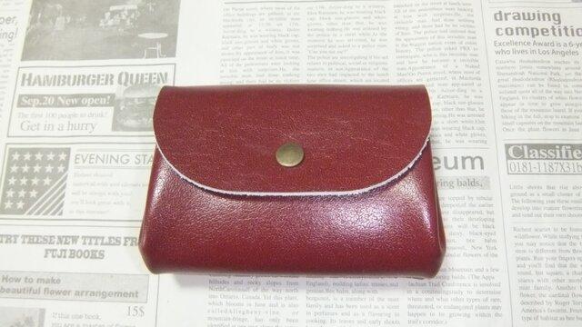 アコーディオン お財布(バッファロー ラセットブラウン)の画像1枚目