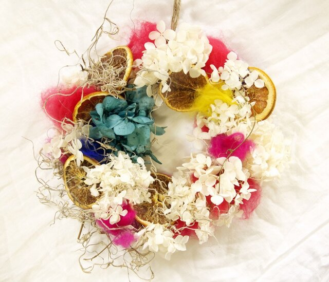 candy wreath2の画像1枚目
