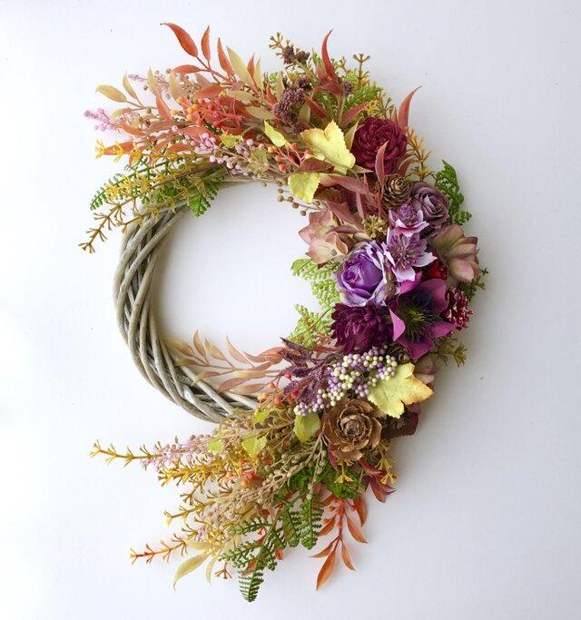 Autumn wreath roseの画像1枚目