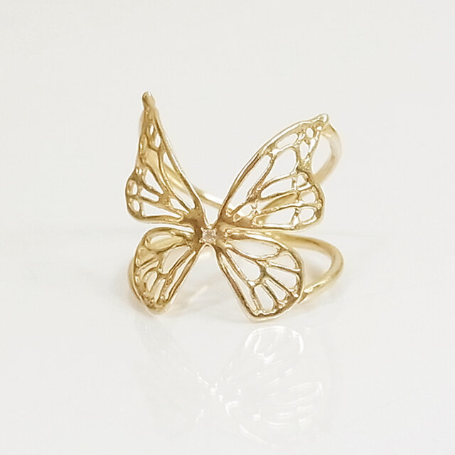 Fairy Butterfly Ring(gold)の画像1枚目
