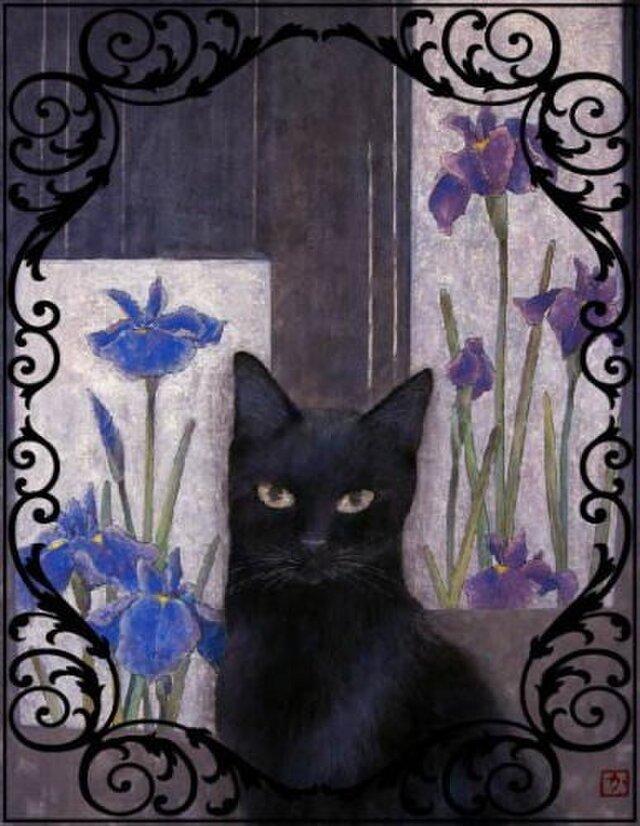 猫さんシール4枚セット(小)の画像1枚目