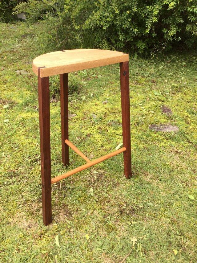森のクマさんカフェ Jazz bar stoolの画像1枚目