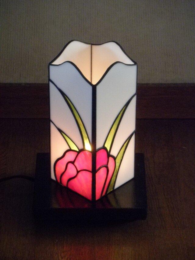 ミニ行灯(花)の画像1枚目