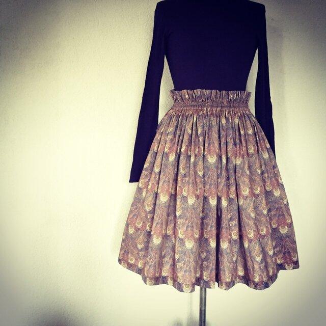 Liberty:hera チュチュみたいなギャザースカートの画像1枚目