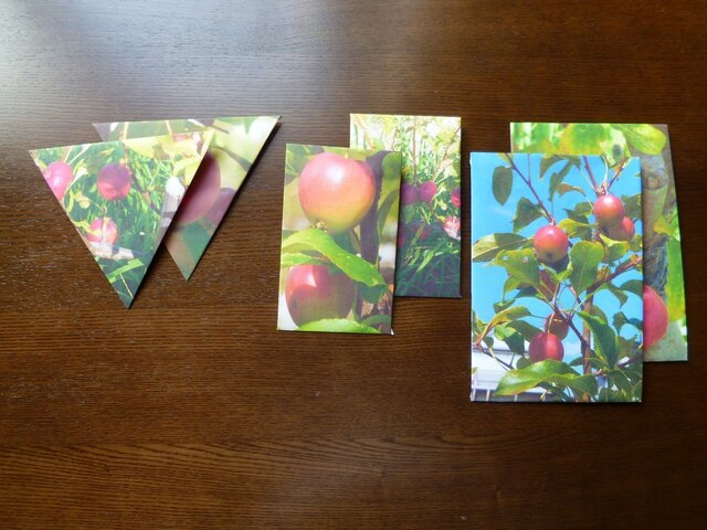 封筒6点~ひめりんご~の画像1枚目