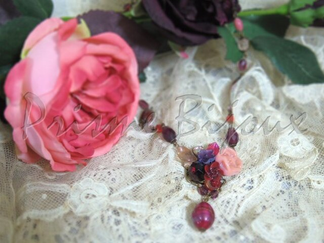 "Necklace ""Cecilia"" #1の画像1枚目"