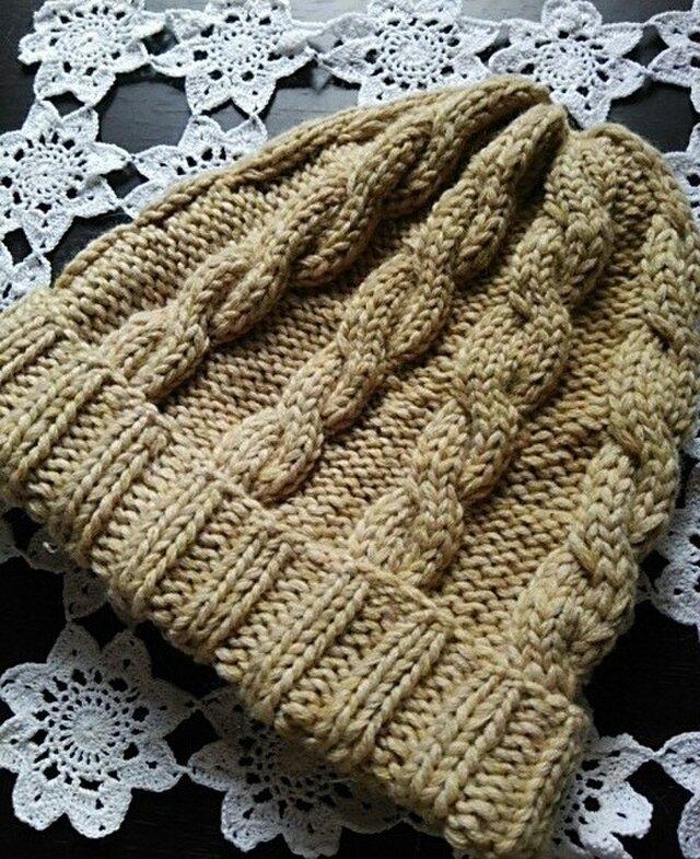 冬を迎えるためのニット帽の画像1枚目