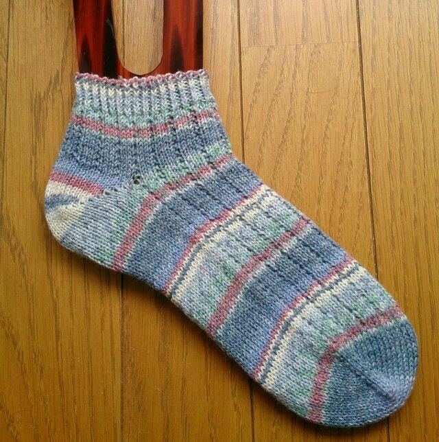手編み靴下 opal cotton premium 8891の画像1枚目